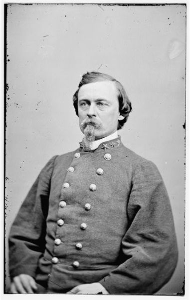 Brigadier-General Joseph Finegan of Clones, Co. Monaghan. Victor of the Battle of Olustee and slave owner (Library of Congress)