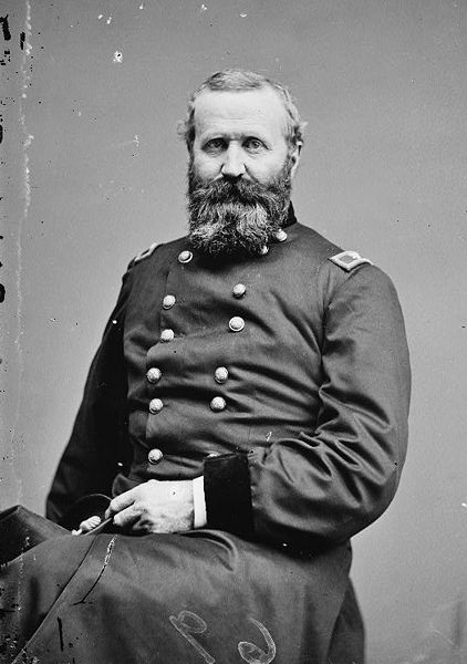 Colonel Alexander Hays of the 63rd Pennsylvania, here shown as a Brigadier-General later in the war (Library of Congress)