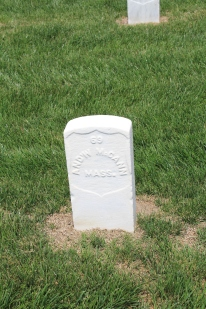 Andrew McCann, 11th Massachusetts Infantry. Died 6th June 1864.