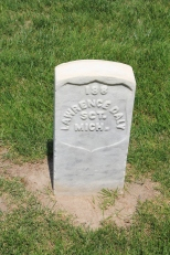 Lawrence Daly, 1st Michigan. Died 3rd June 1864.