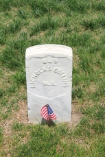 Nicholas Collins. Died 6th June 1862.