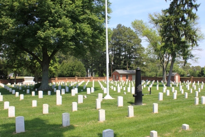 Cold Harbor National Cemetery (Damian Shiels)