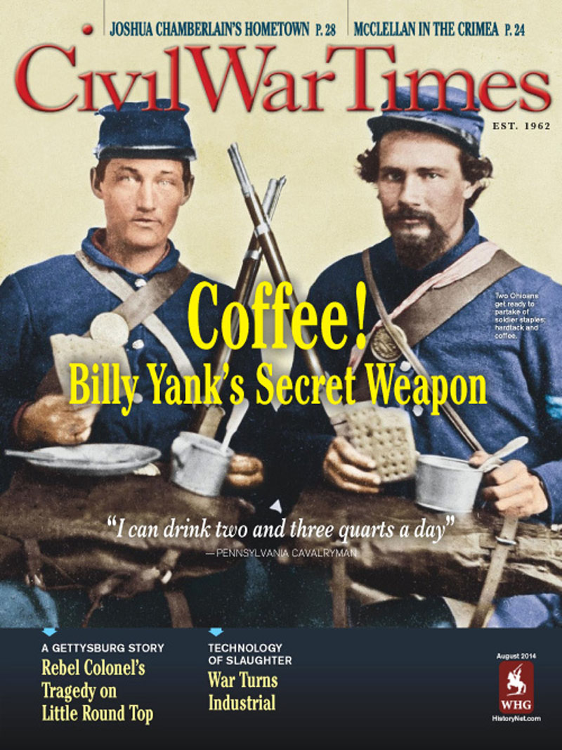 Civil War Times August 2014 (Civil War Times)