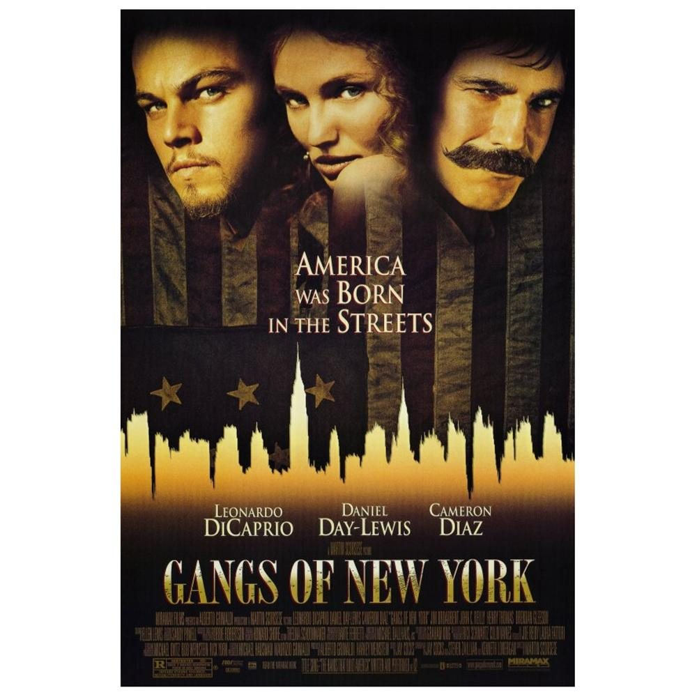 Gangs of New York Cinematic Poster (Miramax)