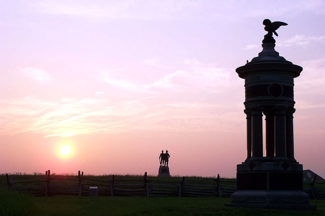 The Excelsior Brigade Monument at Gettysburg (Photo: Cory Hartman)
