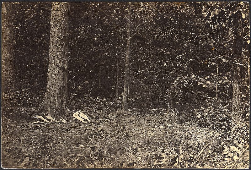 The Scene of General McPherson's Death (National Archives)