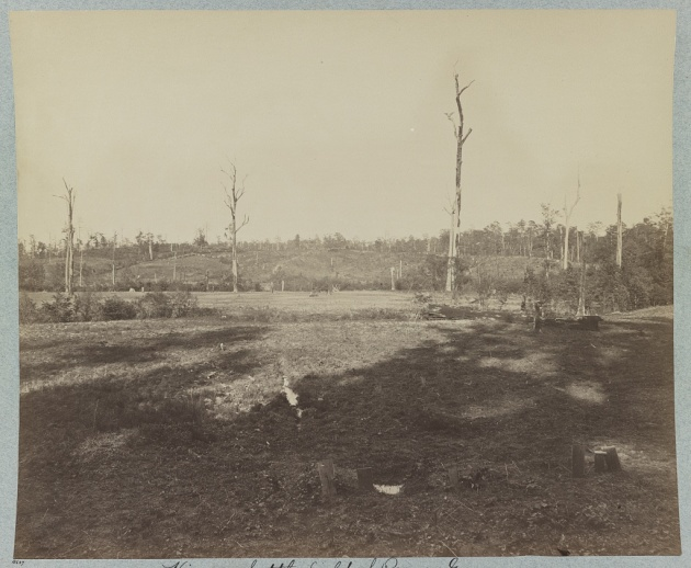The Battlefield of Resaca (Library of Congress)