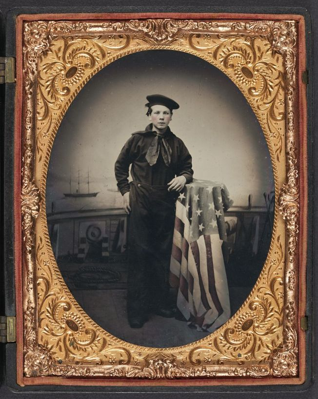 An unidentified Union Sailor (Library of Congress)