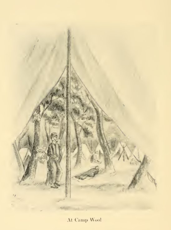 A Hawkins' Zouave at Camp Wool, Hatteras (Charles Johnson, The Long Roll)
