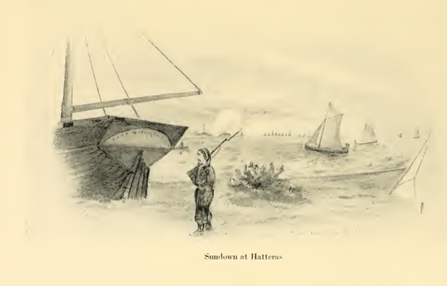 A Hawkins' Zouave at Sundown, Hatteras (Charles Johnson, The Long Roll)