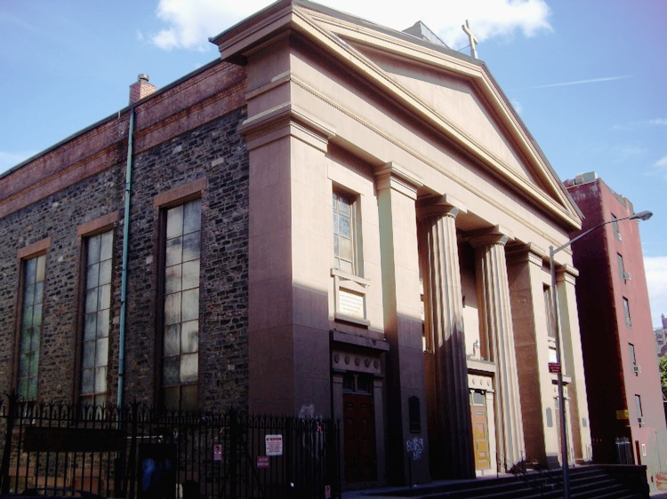 St. James' Church, New York, where Francis and Jane Duffy were married (Wikipedia)