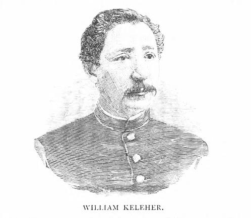 An image of William Kelleher in later life (Regimental History)