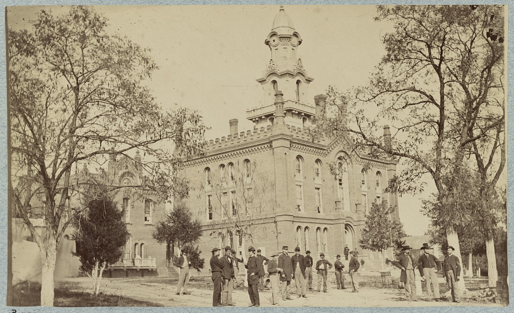 Fairfax Seminary Hospital, Virginia (Library of Congress)