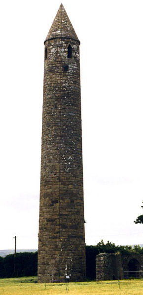 Rattoo Round Tower, a site the Madigans were undoubtedly familiar with in Kerry (Anne Burgess)