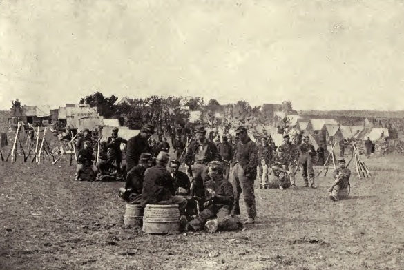 Soldiers of the 23rd Pennsylvania Infantry playing cards (History of the Twenty Third Regiment)