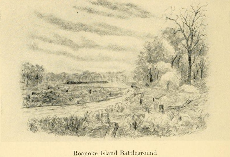 Roanoke Island Battleground (The Long Roll)