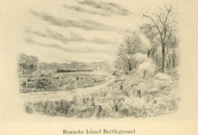 Roanoke Island Battleground (The Long Roll)