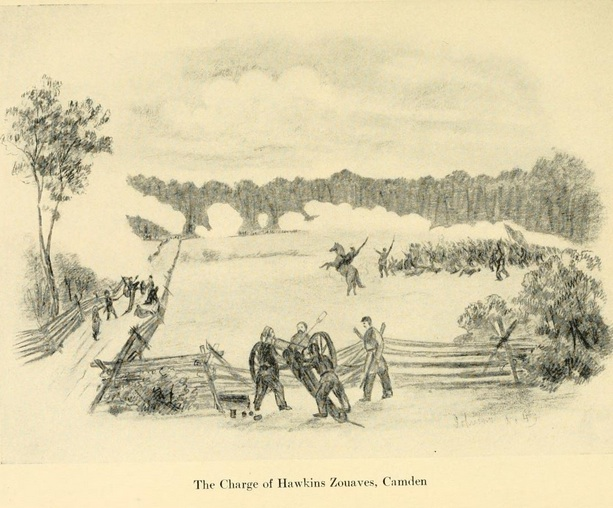 The Charge of Hawkins' Zouaves at Camden (The Long Roll)