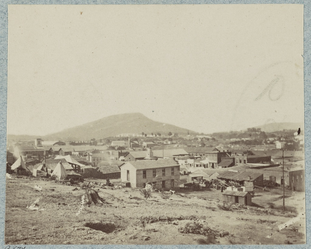 Chattanooga during the Civil War (Library of Congress)