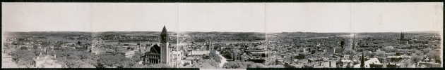 Panorama of Albany in 1906. The Carroll girls spent their lives here because of the fates of their parents in the 1860s (Library of Congress)