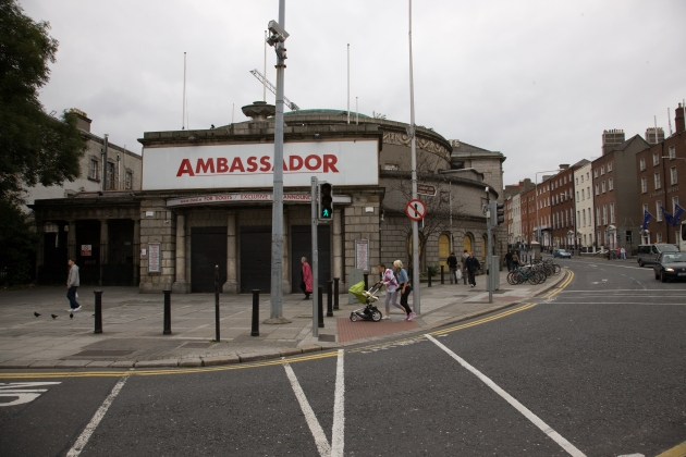 The Rotundo in Dublin, which later formed part of the Ambassador (William Murphy)