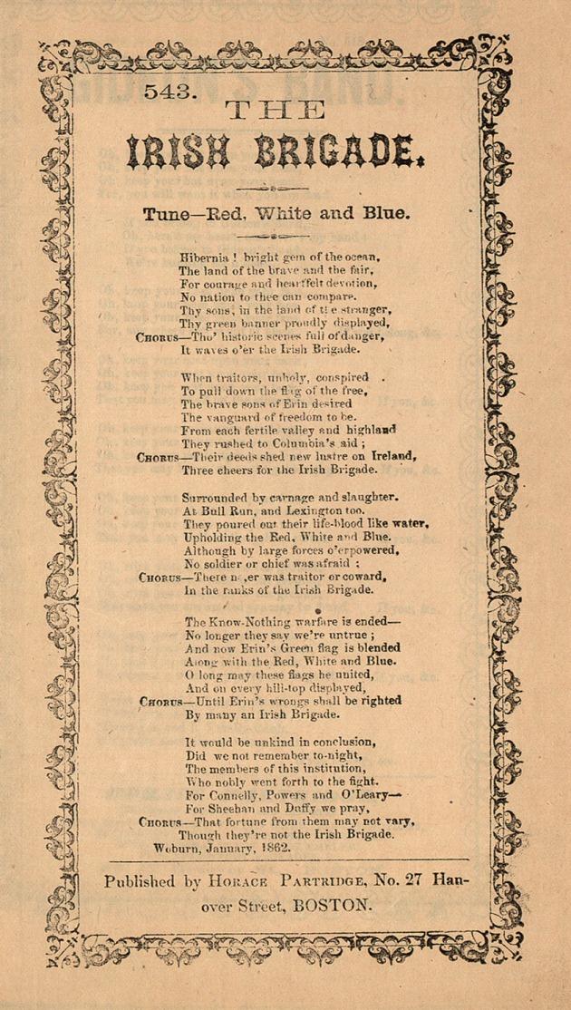 The Irish Brigade (The British Library)