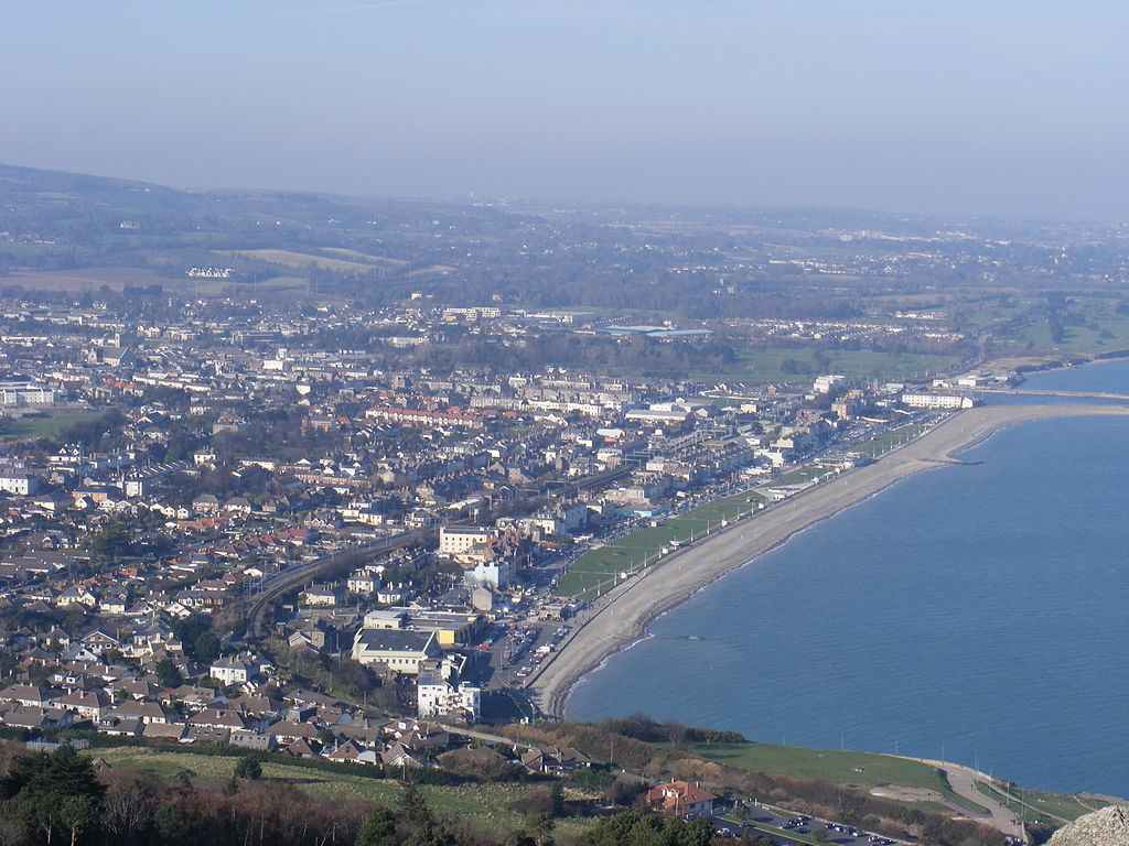 Bray, Co. Wicklow, hometown of the Keegans as it appears today (Photo: Denzillacey)