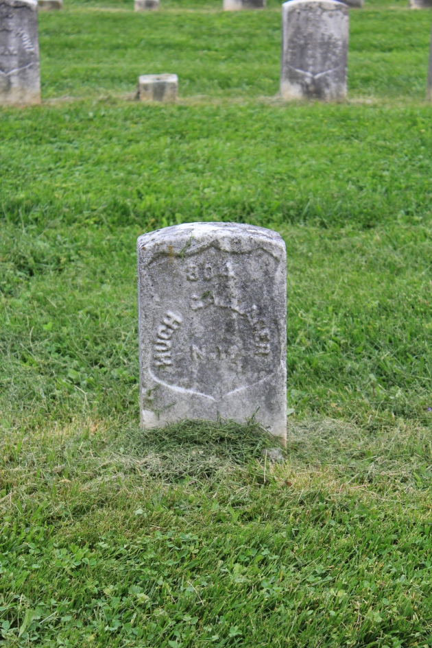 Hugh Gallagher, Antietam National Cemetery (Damian Shiels)