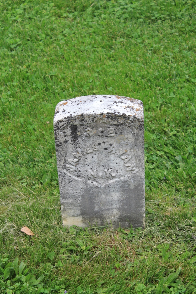 James Ryan, Antietam National Cemetery (Damian Shiels)