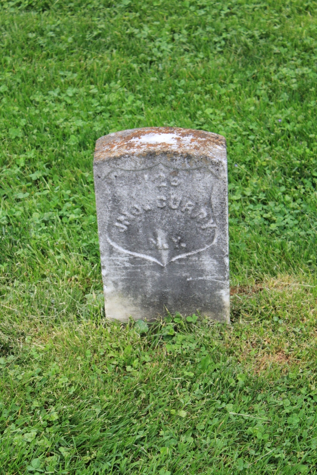 John Curry, Antietam National Cemetery (Damian Shiels)