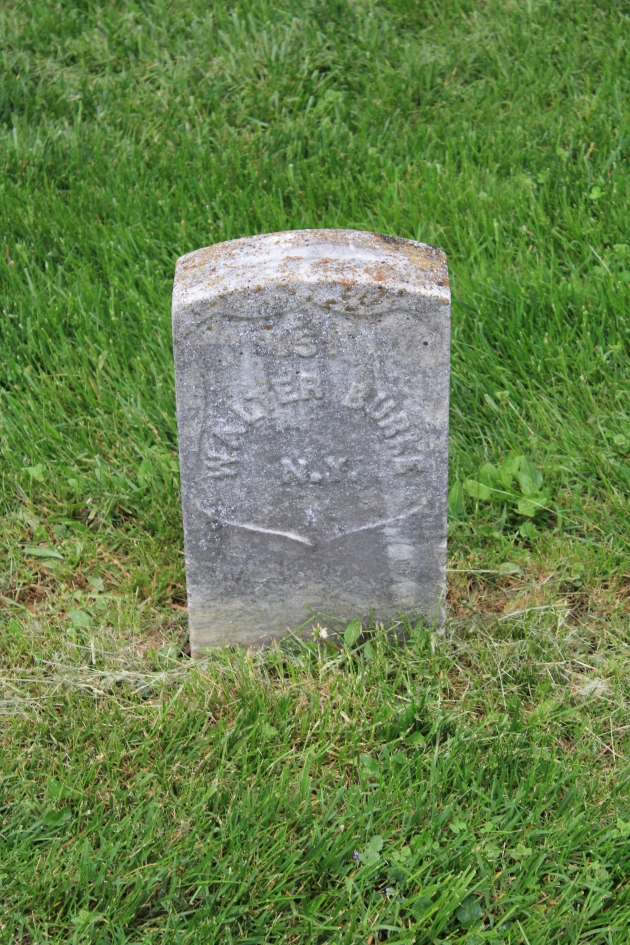 Walter Burke, ANtietam National Cemetery (Damian Shiels)