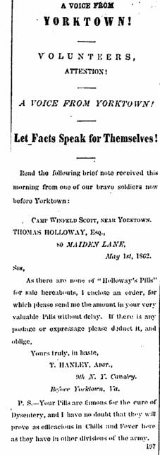 17May 1862 Holloway Pills