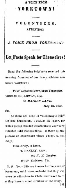17May 1862 Holloway Pills