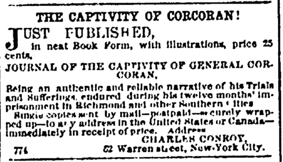 18 July 1863 Corcoran Publication
