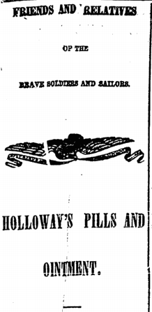 31 October 1863 Holloway Pills