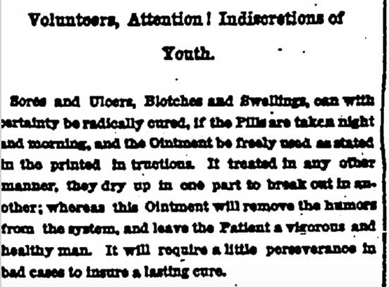 4 February 1864 Holloway Pills