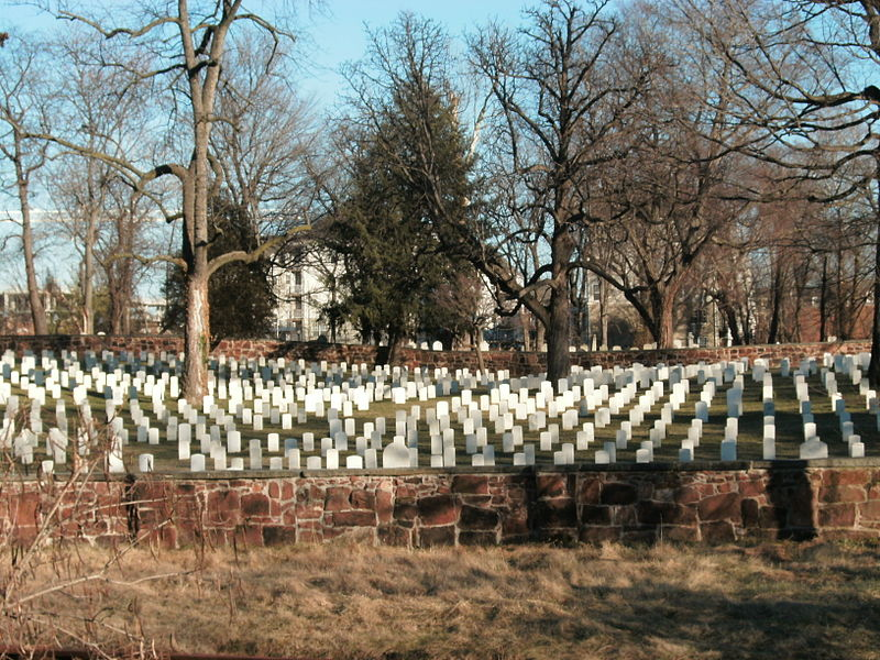 Alexandria National Cemetery (Image: Albert Herring)