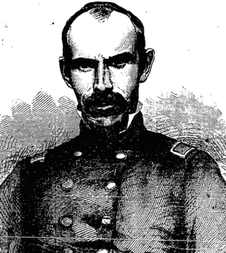 Lieutenant-Colonel James Haggerty of the 69th New York State Miltia. The Donegal native was killed early in the action at First Bull Run on 21st July 1861. This portrait was printed on 5th October 1861 (New York Irish American)