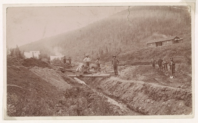Gold Miners in El Dorado, California, during the Gold Rush (Library of Congress)