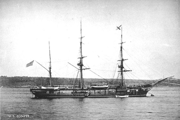 USS Ossipee (Navy Historical Center)