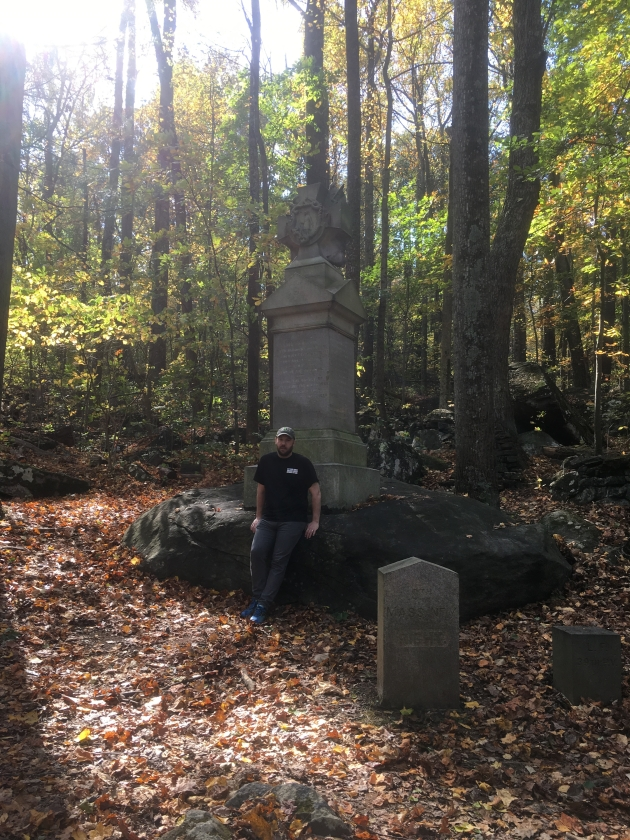 The 9th Massachusetts Infantry are among hte units I have studied in most detail, and I have walked some of the ground on which they fought at Gaine's Mill and The Wilderness. Visiting their memorial at Gettysburg was among the highlights of my trip to the field (Damian Shiels)