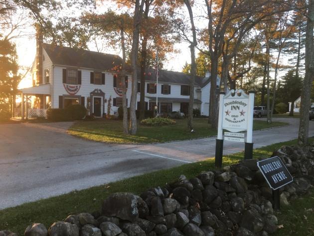 The Doubleday Inn on Doubleday Avenue, Oak Ridge, Gettysburg (Damian Shiels)