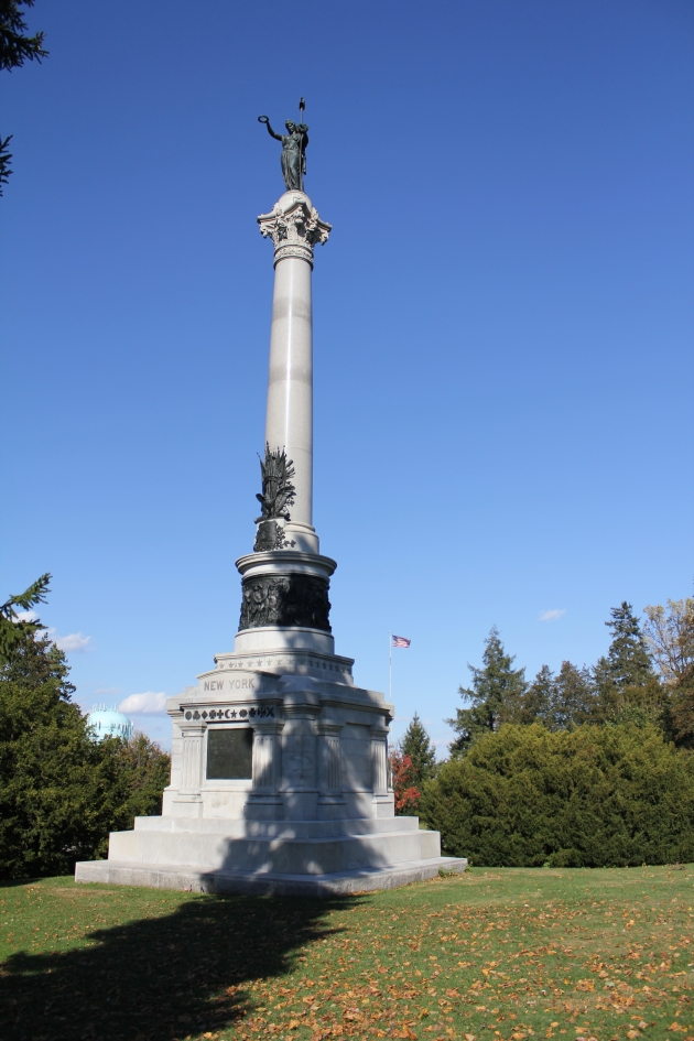 New York State Memorial, Gettysburg National Cemetery (Damian Shiels)