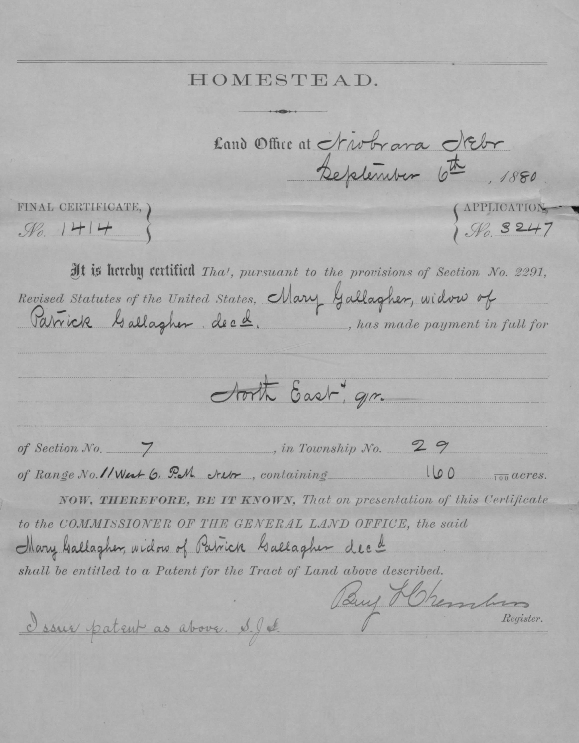 Hard Graft & Grasshoppers: Irish Homesteaders in 1870s
