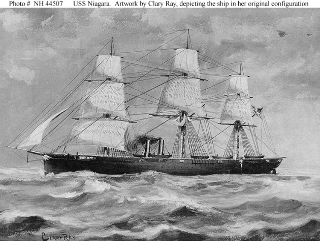 USS Niagara (Naval History & Heritage Command)