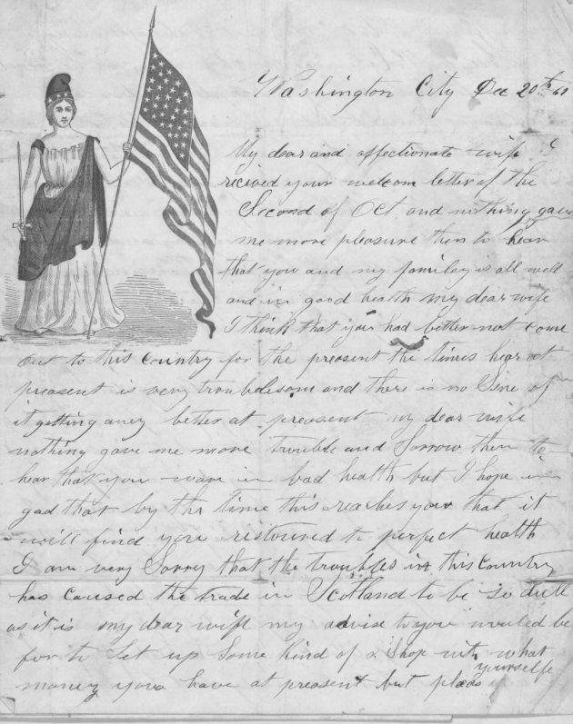 James Shepard Letter