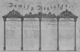The Phelan Family Register (NARA/Fold3)