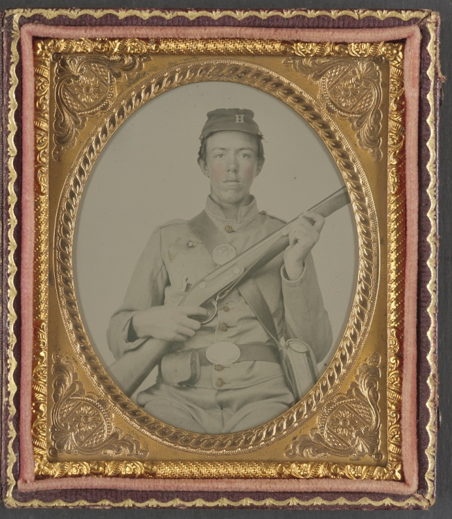 A young Illinois soldier in the Civil War (Library of Congress)