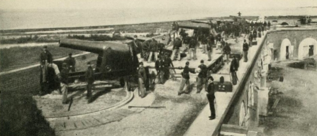 Men of the 3rd Rhode Island at Fort Pulaski in 1863 (Photographic History of the Civil War)