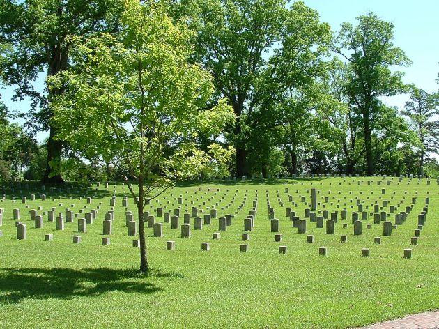 Shiloh National Cemetery Ernest Mettendorf)